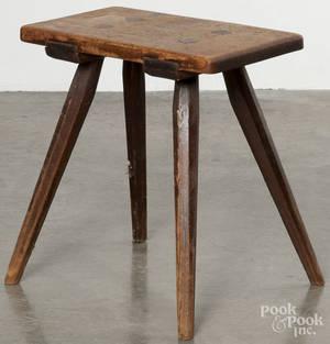 Moravian splay leg stool