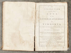 A Collection of All Such Acts of the General Assembly of Virginia