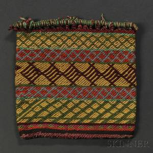 Chippewa Fingerwoven Yarn Bag