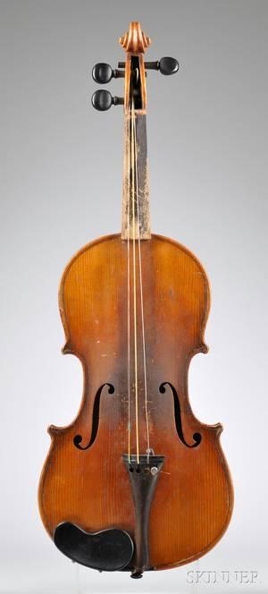 Childs German Violin c 1890