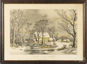 Early restrike of Currier  Ives