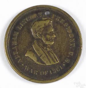 Civil War soldiers identification token
