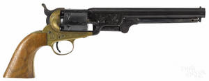 Italian made reproduction Colt Navy percussion revolver