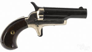 Contemporary Colt singleshot derringer pistol
