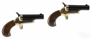Boxed set of two Butler derringer pistols