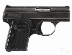 Browning semiautomatic pistol