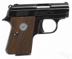 Colt semiautomatic pistol