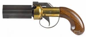 Two percussion handguns