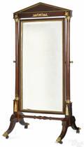 French Empire chevelle mirror ca 1820