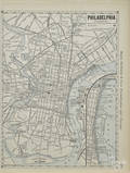 Four unframed Rand McNally US street maps