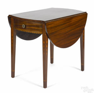 Baltimore Federal mahogany Pembroke table ca 1810