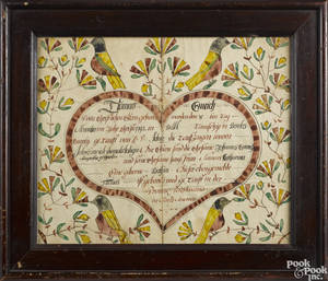Johann Conrad Trevits Southeastern Pennsylvania active 17751825