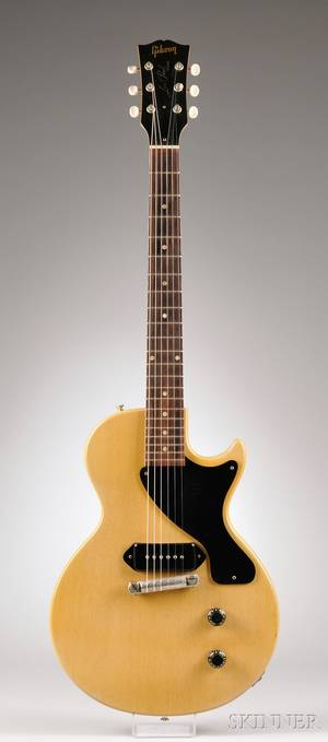 American Electric Guitar Gibson Incorporated Kalamazoo 1956 Les Paul TV Model
