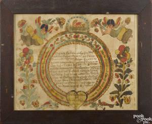 Blousy Angel Artist Southeastern Pennsylvania active 17801811