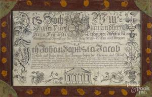 German ink fraktur