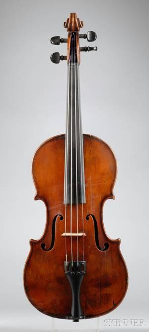 French Violin Probably Nicolas Workshop c 1880
