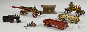 Group of Tin and Iron Toys