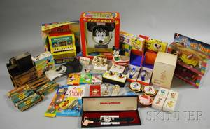 Group of Vintage and Collectible Mostly Disney Items