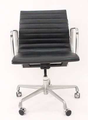 Eames Reproduction Leather Office Chair E119