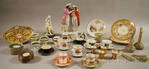 Group of Assorted Porcelain Ceramics and Antiquities