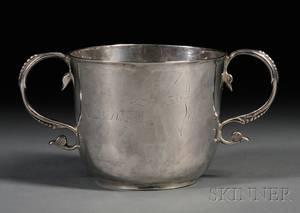 James II Silver Twohandled Cup