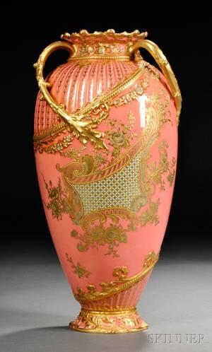Royal Crown Derby Porcelain Vase