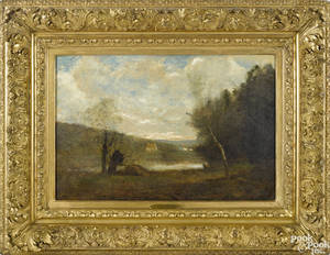 Manner of Jean Baptiste Camille Corot French 17961875