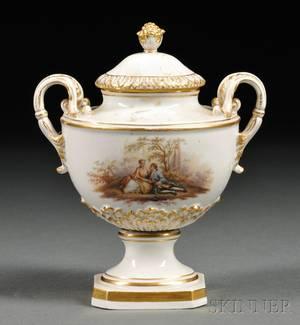 Meissen Porcelain Vase and Cover