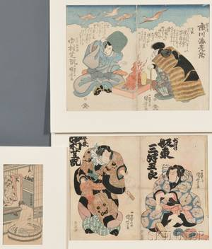 Three Japanese Woodblock Prints