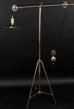 Restoration Hardware Counter Balance Floor Lamp