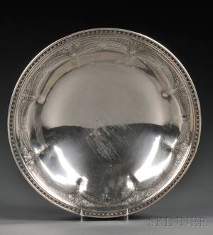 Towle French Pattern Sterling Silver Footed Bowl