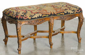 French fruitwood bench