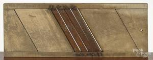 Large tiger maple slaw board