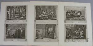William Hogarth British 16971764 Industry and Idleness A Suite of Twelve Engravings