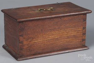Pennsylvania walnut dresser box