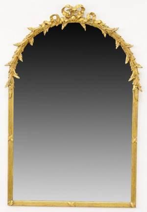 Gilt Wood Framed Wall Mirror
