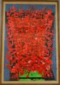 Karl Zerbe American 19031972 Firethorn Bush