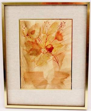 Levier Floral Still Life Watercolor