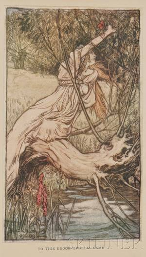 Rackham Arthur Illustrator Lamb Charles  Mary