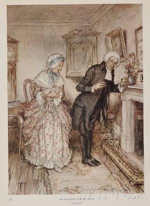 Rackham Arthur Illustrator 18671939  Goldsmith Oliver 1728 1774