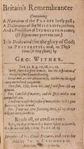 History English Wither George 15881667
