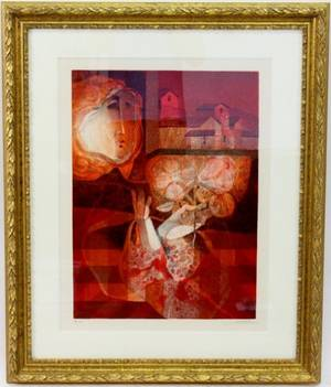 Sunol Alvar Limited Ed Lithograph Signed