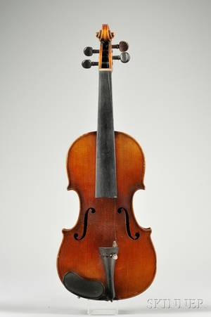 Childs German Violin c 1890 Probably Louis Lowendall