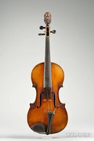 French Violin probably Derazey Workshop c 1890