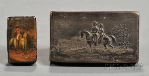 Two French Snuff Boxes