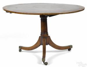 George III mahogany breakfast table late 18th c