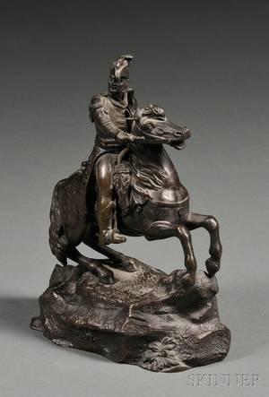 Bronze of Napoleon on Horseback