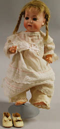 BSW Bisque Head Baby Doll