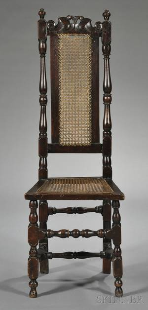 Pair of William  Mary Side Chairs