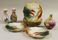 Eleven Pieces of Assorted Continental and Asian Ceramics